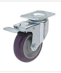 Bánh xe đẩy có khóa tải từ 82kg đến 122kg/bánh