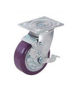 Bánh xe đẩy PU lõi PP tải từ 243kg đến 370kg/bánh