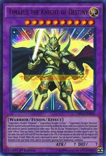 DRL3-EN055 Timaeus the Knight of Destiny Ultra Rare