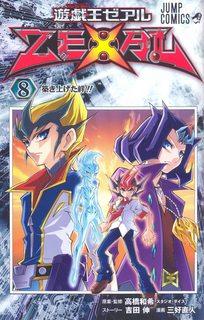 Manga Yu-Gi-Oh! Zexal Vol.8 Tiếng Hàn