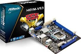ASROCK H61M-VS3 Box