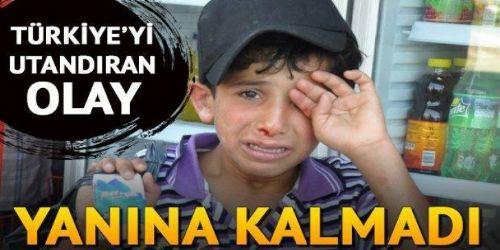 İzmir'de küçücük yaşında ekmek parası kazanmak için mendil satan Suriyeli çocuğa saldıran esnaf için yasal süreç başlatıldı. Polisin iki günlük çabası sonucunda çocuğun annesi emniyete getirilerek esnaftan şikayetçi olması sağlandı. Öte yandan Suriyeli çocuğu darp ettiği iddia edilen esnaf, o an başka biriyle kavga eden Suriyeli çocuğu korumak için kavgaya müdahil olduklarını ve olayın yanlış anlaşıldığını öne sürdü.
