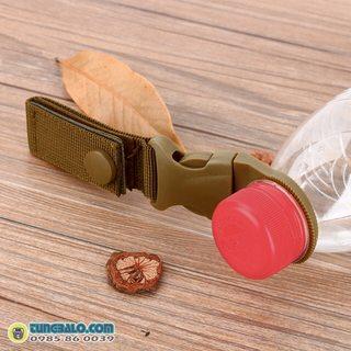 Móc treo chai nước du lịch (vàng cát)