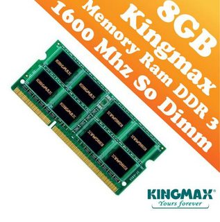 DDRAM Kingmax 8GB/1600