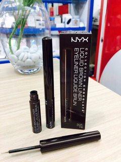 Kẻ mắt Nyx Liquid Brown Liner