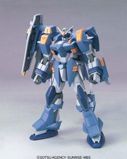 Figure HT 01 1/144 Gundam Blu Duel