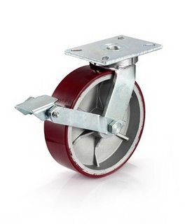 Bánh xe đẩy có khóa BRK1 7 Series tải tối đa 2,025kg/bánh