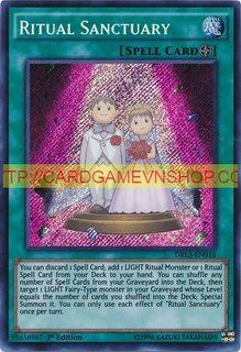 DRL3-EN016 Ritual Sanctuary Secret Rare