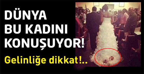 Düğünlerde yaşanan bir sürü hadiseye hemen hepimiz şahit olmuşuzdur…Ama böylesi henüz bir ilk…