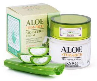 Kem dưỡng ẩm mịn da lô hội Dabo Aloe Stem-Rich Moisture Cream