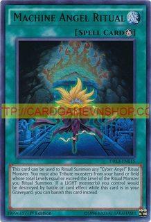 DRL3-EN015 Machine Angel Ritual Ultra Rare