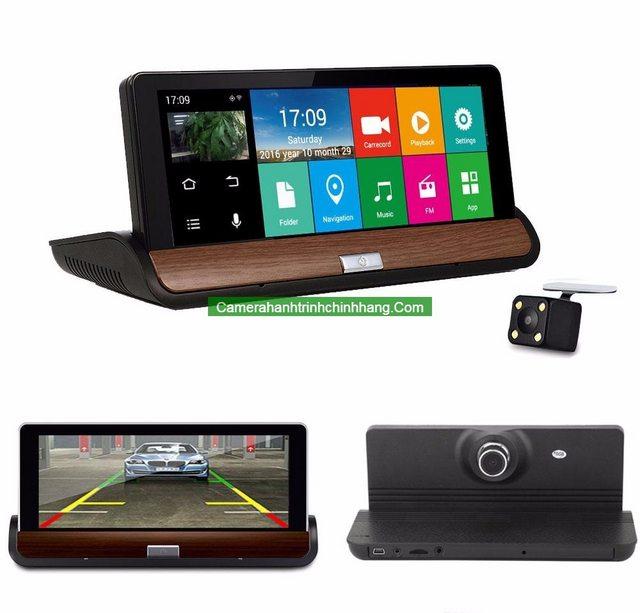 Cam hành trình Taplo N95 (2 cam, GPS, wifi, 3G)