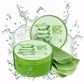 kem dưỡng da Aloe vera 92% Soothing gel