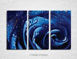 Tranh Bộ Ghép Đồng Hồ 3 tấm- 30x60 cm