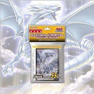 Bọc Bài Rồng Trắng Mắt Xanh(Blue-Eyes White Dragon) Bài Yu-Gi-Oh! Chính Hãng tại Việt Nam