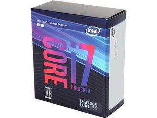CPU Intel Core i7 8700K 3.7Ghz Turbo Up to 4.7Ghz / 12MB / 6 Cores, 12 Threads / Socket 1151 v2